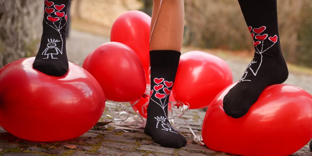 Zaláskované ponožky