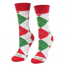 Detail produktu Ponožky klasik vianoce biele