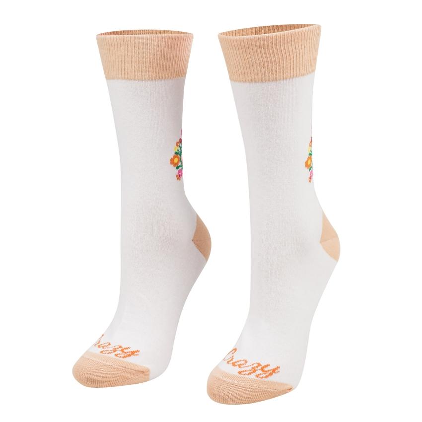 Ponožky Ľudové srdiečka