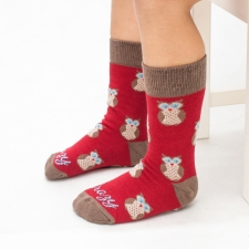 Detail produktu DETSKÉ ponožky sovička