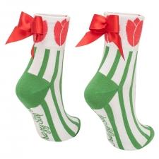 Detail produktu Ponožky s mašlí Tulipán